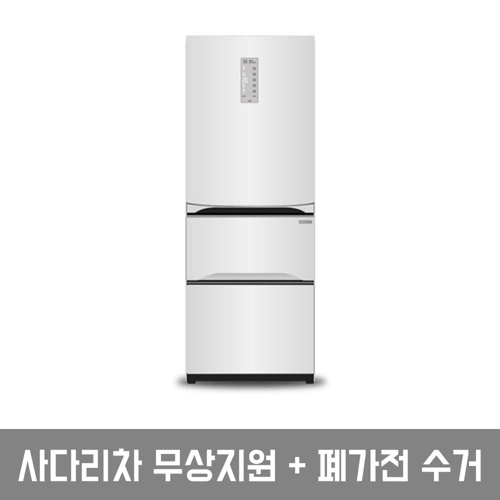LG전자 트윈스 디오스 김치톡톡 김치냉장고 K339W11 327L 스탠드형