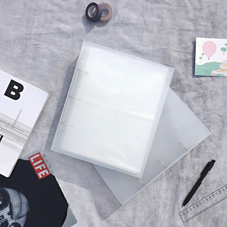 포카바인더 포토카드 씰스티커 엽서 보관 앨범, 30장, A(9cm x 6.5cm 8칸)