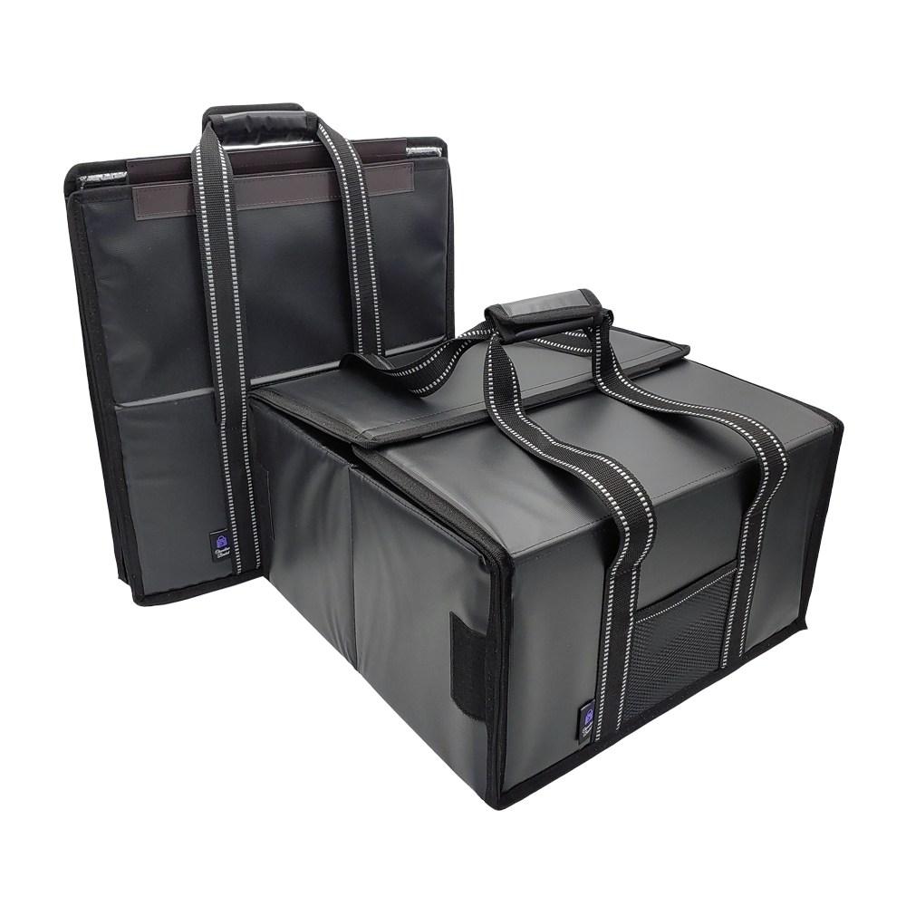 카멜레온 바스켓 40리터 폴딩바스켓 XL_보온보냉 배달가방_피자가방 4판용_접이식 보온보냉가방