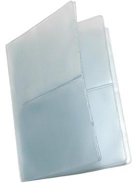 히프스트 지갑 및 신용카드 지갑용 싱글호우 비닐창 삽입물(2개입)