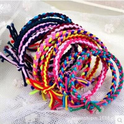 민스리빙 대용량 꼬임 머리끈 (100개세트)