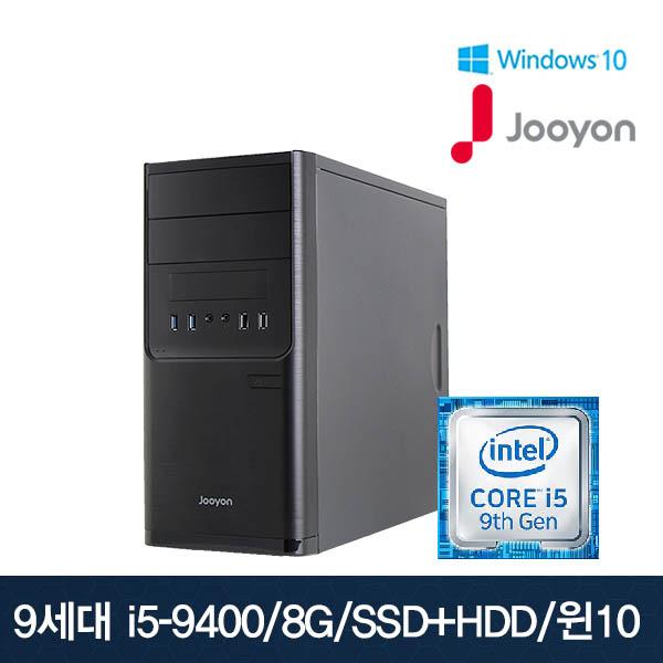 주연테크 데스크탑 SSD-A94M24G[본체], SSD-A94M24G[본체만구매]