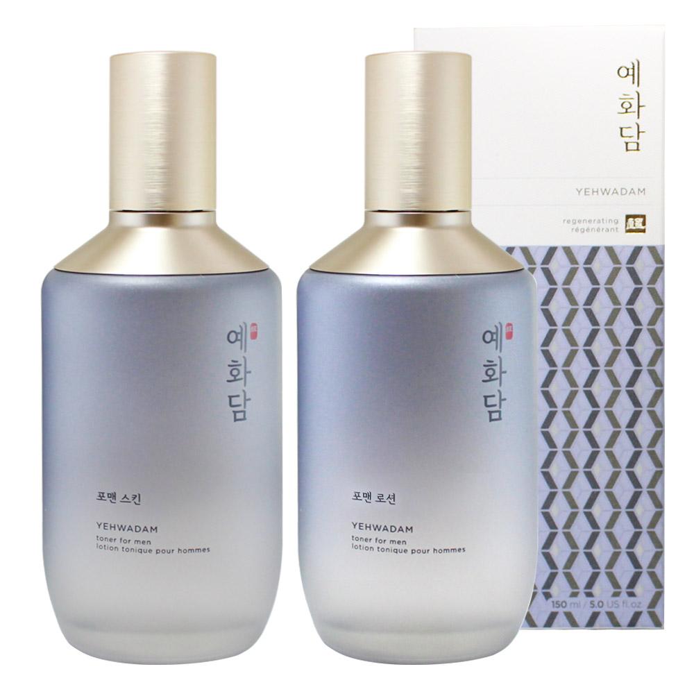 더페이스샵 예화담 포맨 단품 2종 / 스킨+로션, 단일상품, 단일상품