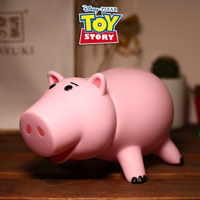 Toy story 토이스토리 햄 핑크 돼지 저금통 피규어