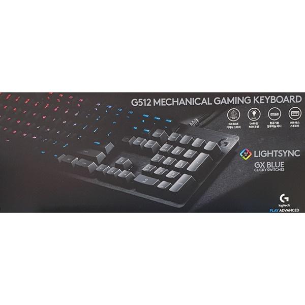 로지텍 G512 CARBON RGB 기계식 게이밍 키보드, 1, 1