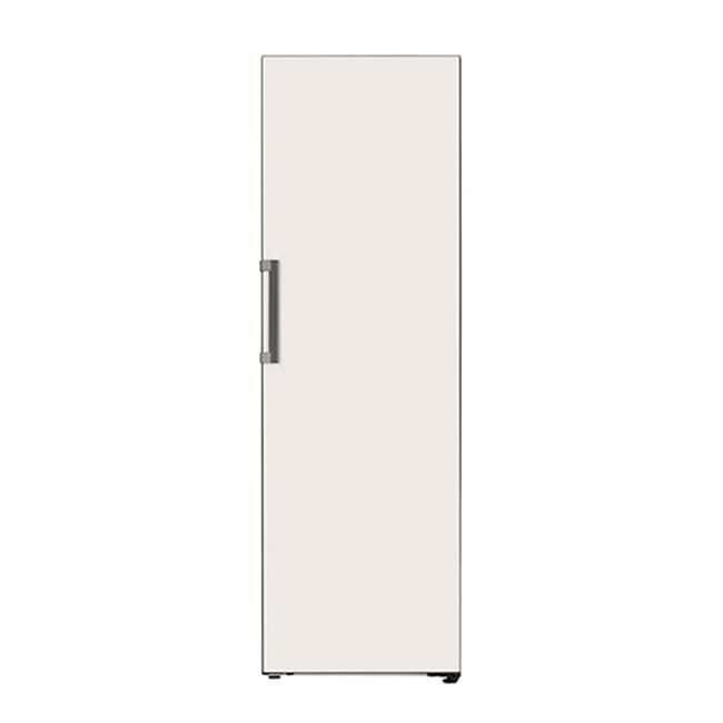 LG전자 오브제컬렉션 X320GB 컨버터블 냉장고 1등급 미스트 글라스 베이지, 키트(컨버터블+컨버터블)