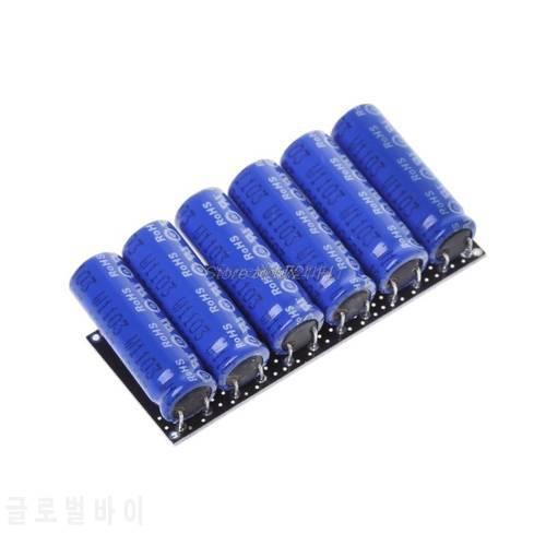 보호 보드가있는 16V 2F 패러 드 캐패시터 모듈 수퍼 커패시터 16V 2F Fara, 상세내용참조