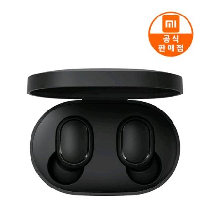 샤오미 정품 Mi 에어닷S 무선 블루투스 이어폰 블루투스이어폰, 블랙