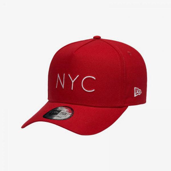 뉴에라 뉴에라 940 K프레임 NYC 딘 컬렉션 볼캡 레드 12559321