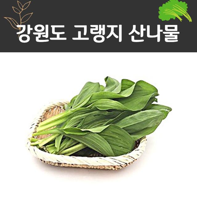 자연미가 산마늘 명이 생채3kg fr강원도 산나물, 1box, 잎명이생채3kg