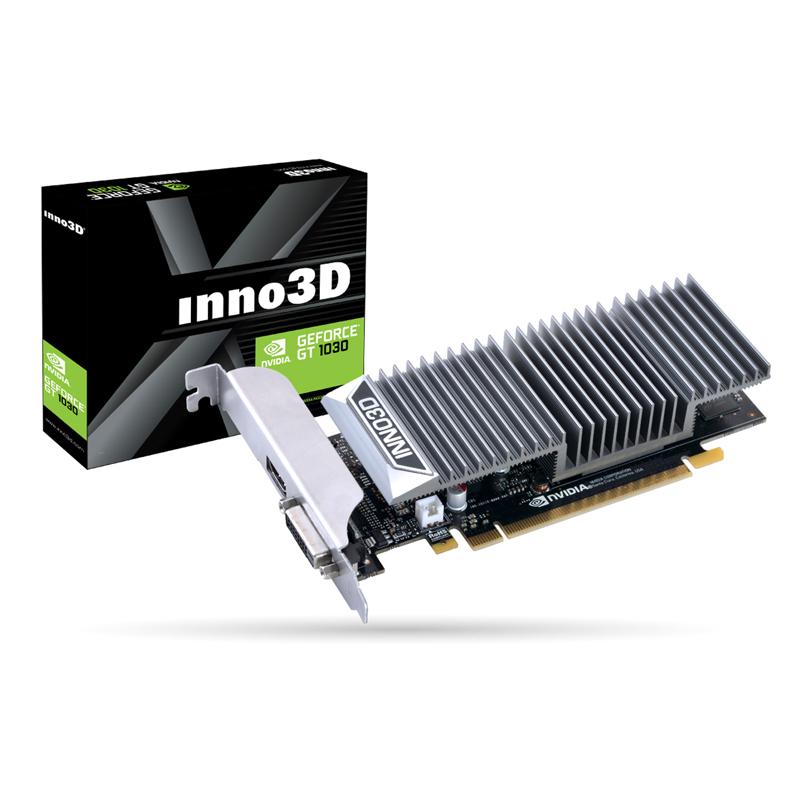 INNO3D 지포스 GT 1030 D5 2G LP 무소음 그래픽카드, 기본모델