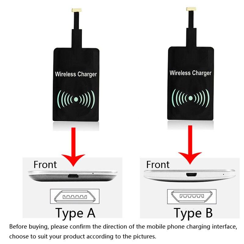 범용 QI 무선 충전기 충전 패치 수신기 어댑터 패드 삼성 GALAXY S6 S7 EDGE PLUS NOTE 5 GOOGLE NEXUS 6 7 LG, for iphone (POP 5702964156)