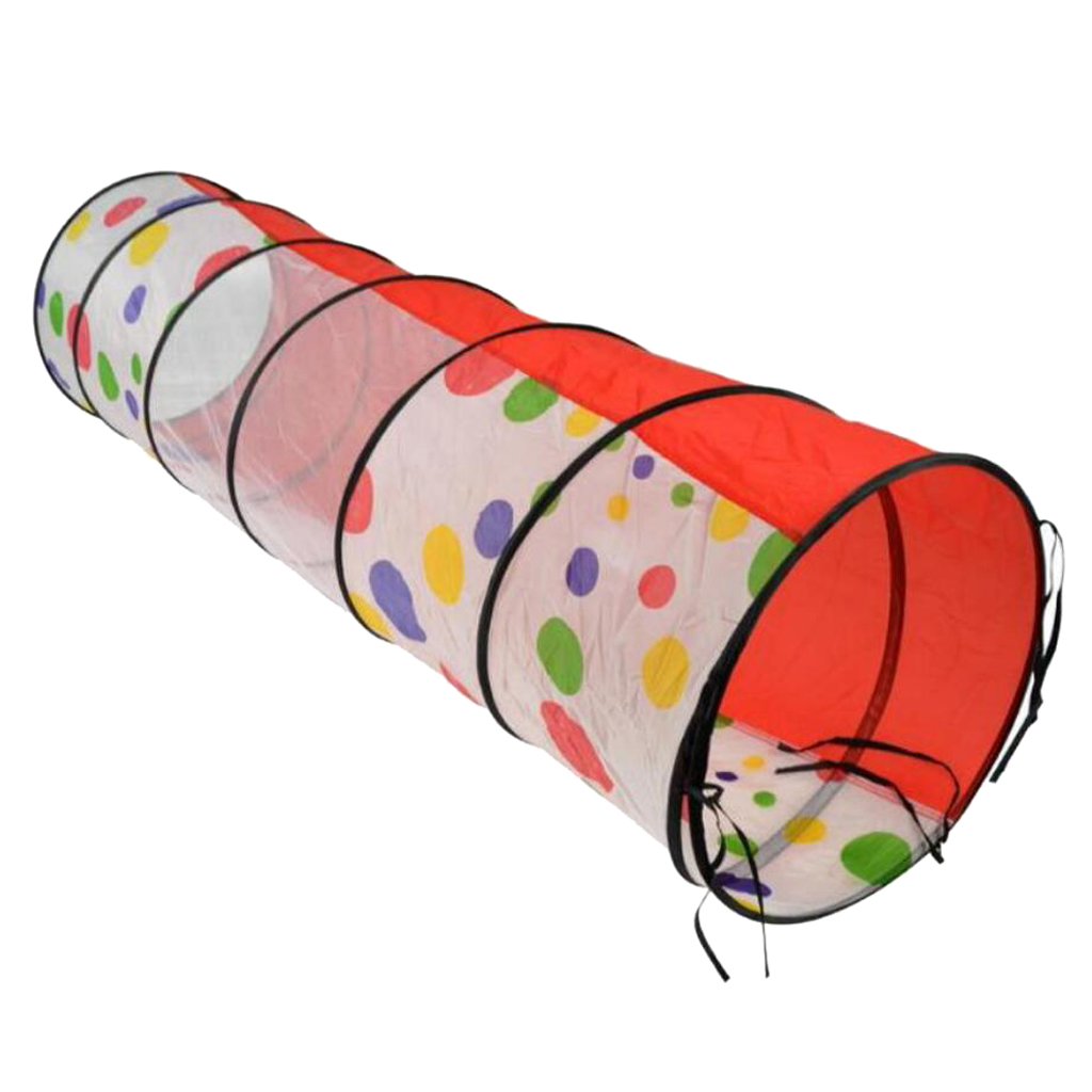 QDY 터널 플레이 휴대용 놀이 천막 접이식 놀이 텐트