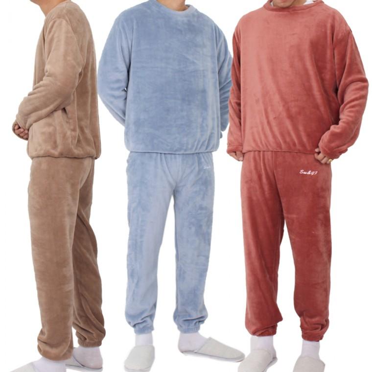 겨울잠옷 상하의세트 수면잠옷 세트 남성 best 초극세사 추천