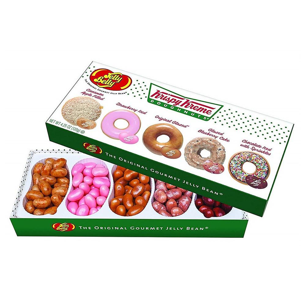 젤리 벨리 Jelly Belly Krispy Kreme Doughnuts Multi colored 크리스피 크림 도넛 4.2oz(120g) 1팩, 120g