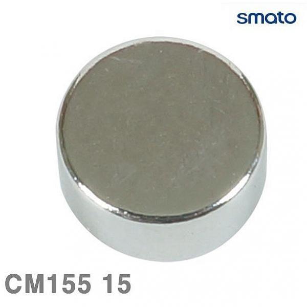 쇼핑은나의길 스마토 자석 CM155 15 5 1판-4EA 묶음 10판 메모 문구자석
