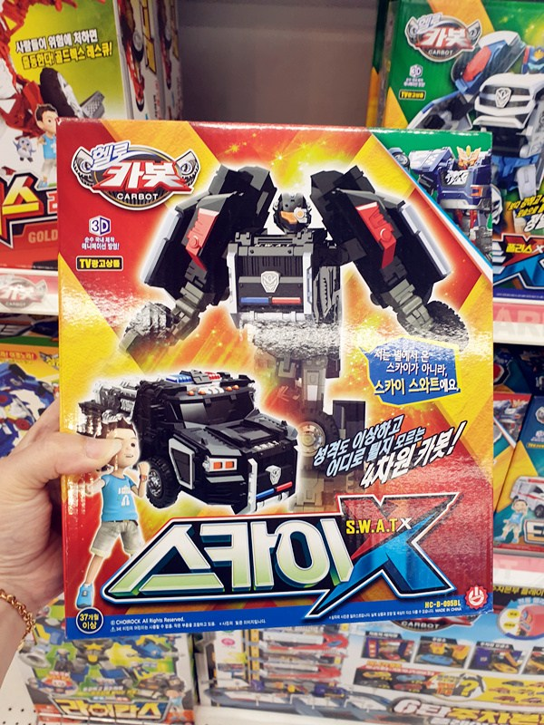 핼로카봇 로봇 펜타스톰x 프론폴리스x 미니 댄디 프라임 장난감 어린이 핼로카봇x 헬로카봇 -스카이x BOW79, SWAT 자동차