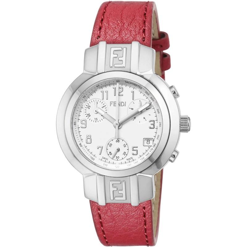 [여성 손목시계] [펜디] 시계 Zucca Chrono F112100102 여성 병행 수입품 레드