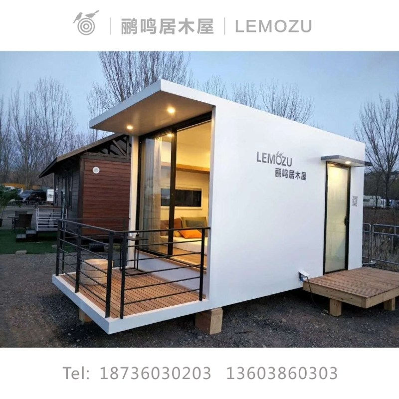 중고 농막 이동식 주택 매매 컨테이너 6평 조립식 건축 비용 돔텐트 목조 조립 된 캐빈