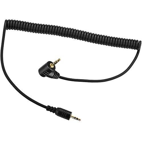 PHOLSY 2.5mm C6 Off-Camera Remote Cable for Canon EOSR EOSRP 9/165452, 상세내용참조