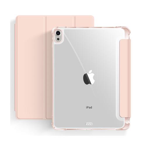 ecodot 아이패드 에어 4세대 10.9 애플펜슬 수납 스마트커버 케이스, 베이비 핑크
