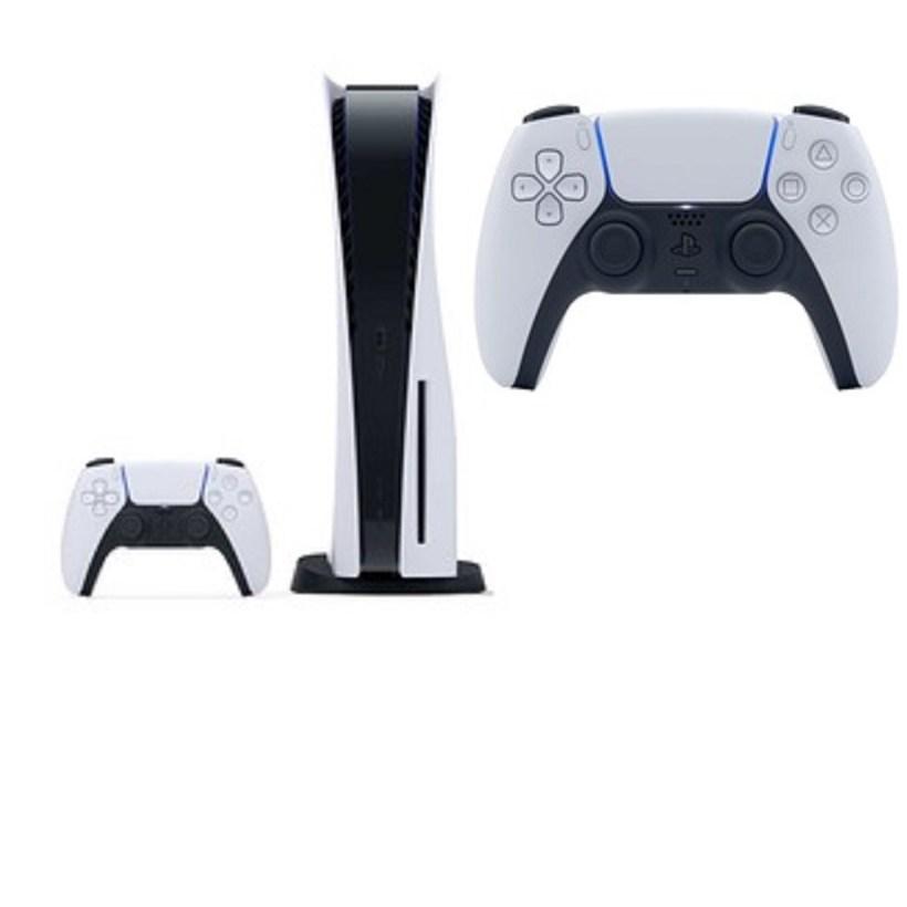 PS5 플레이스테이션5 플스5 디스크에디션 새상품 + 소니 듀얼센스 무선 컨트롤러 포함 2인셋