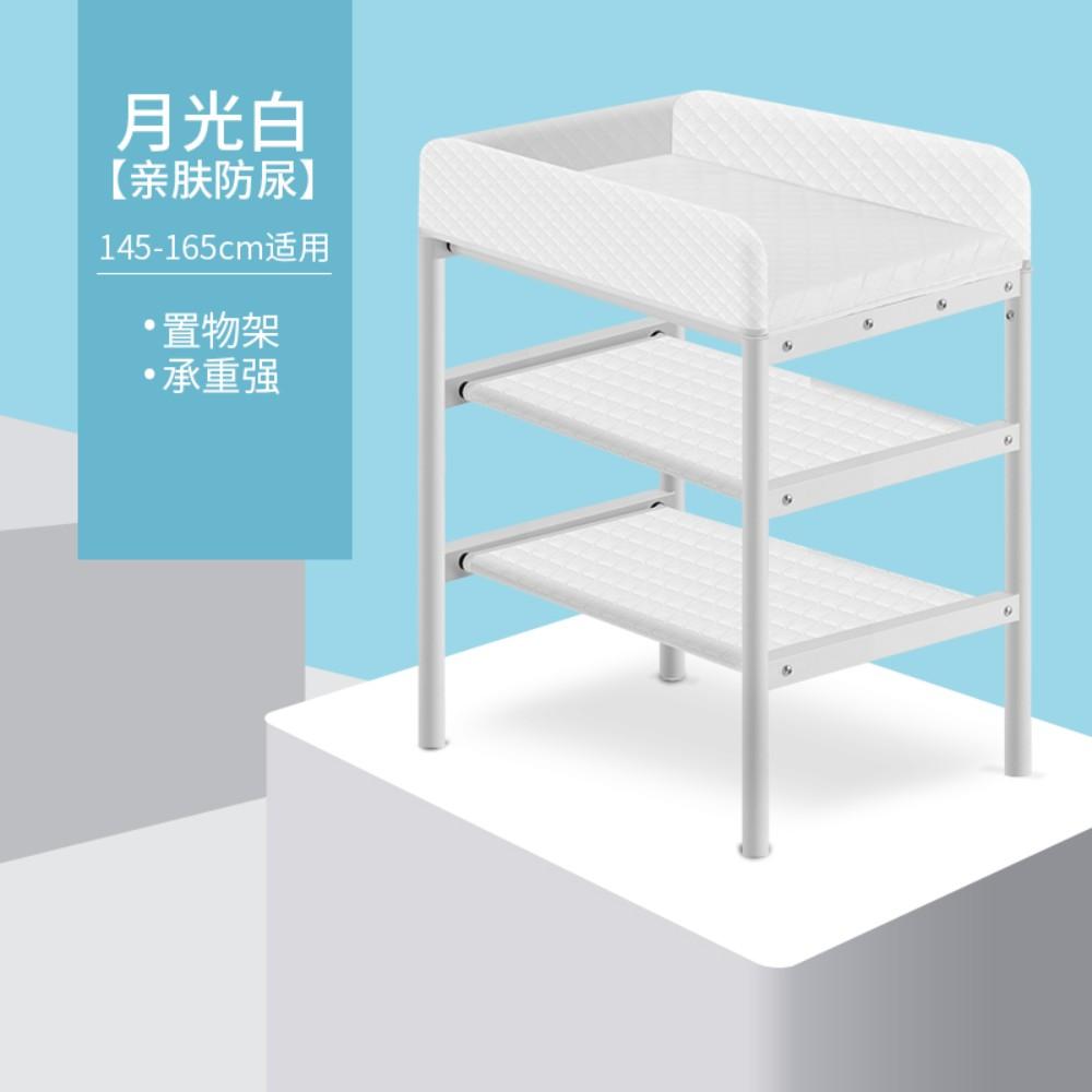유아용 기저귀 테이블 베이비 케어 가정용 휴대용 다기능 간이 기저귀 교환 목욕테이블, 바퀴가없는 친화적 인 소변 방지 모델
