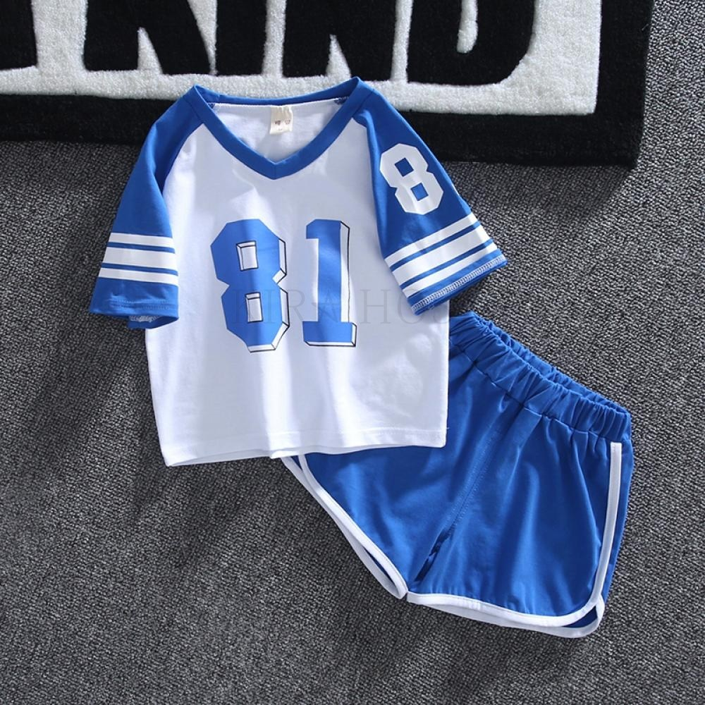 kirahosi 퀄리티 6 아동 남아 키즈 여름 반팔 티셔츠 +반바지 세트 투피스 패션 123 BWswxho