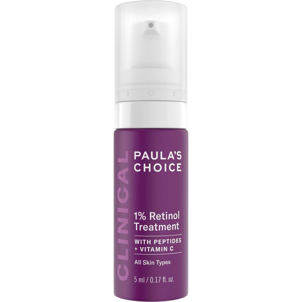 Paulas Choice 1% Retinol Treatment Cream 폴라초이스 레티놀 트리트먼트 크림 0.17oz(5ml), 1개