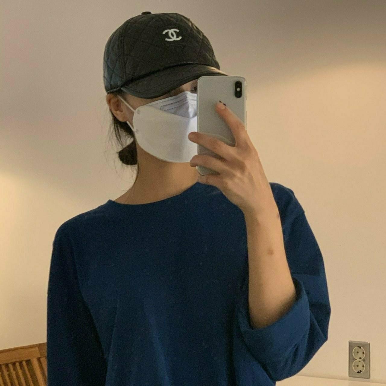 마리아몰 [샤넬]명품 모자 가죽 볼캡