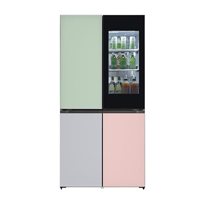 LG전자 M870G3T451S 오브제컬렉션 냉장고 1등급 글라스 (POP 4577236587)