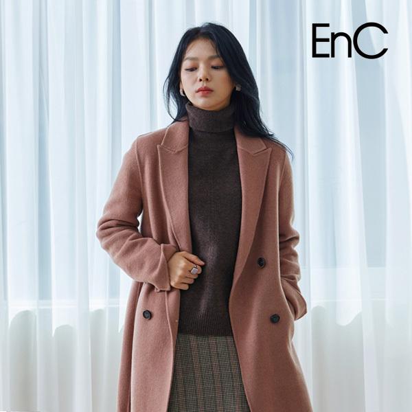 ENC 더블 핸드메이드 롱 코트 ENJH04TA5O_강서점