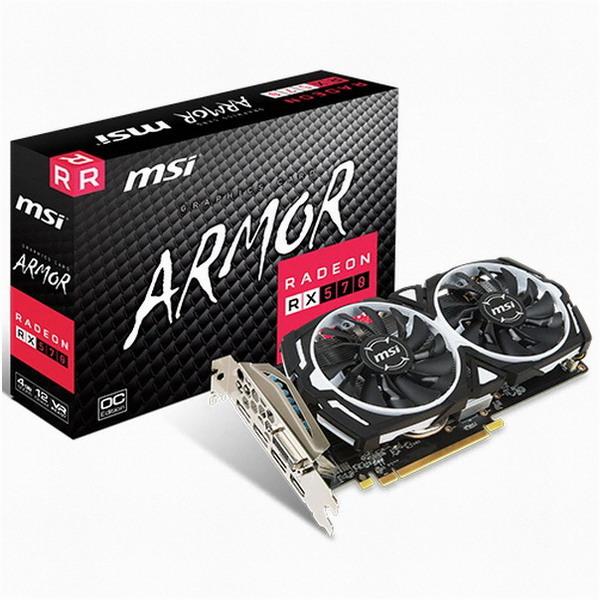 MSI 라데온 RX 570 아머 OC D5 4GB 그래픽카드, 라데온 RX 570 아머 OC D5 4GB 그래픽카드/5701