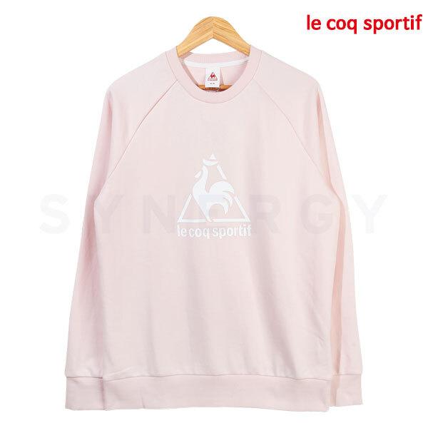 르꼬끄 남성 레귤러핏 로고 맨투맨(핑크)Q9311AFS75