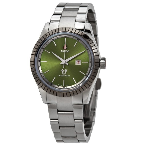 [R33103314] Golden Horse Automatic Green Dial Men's Watch R33103314