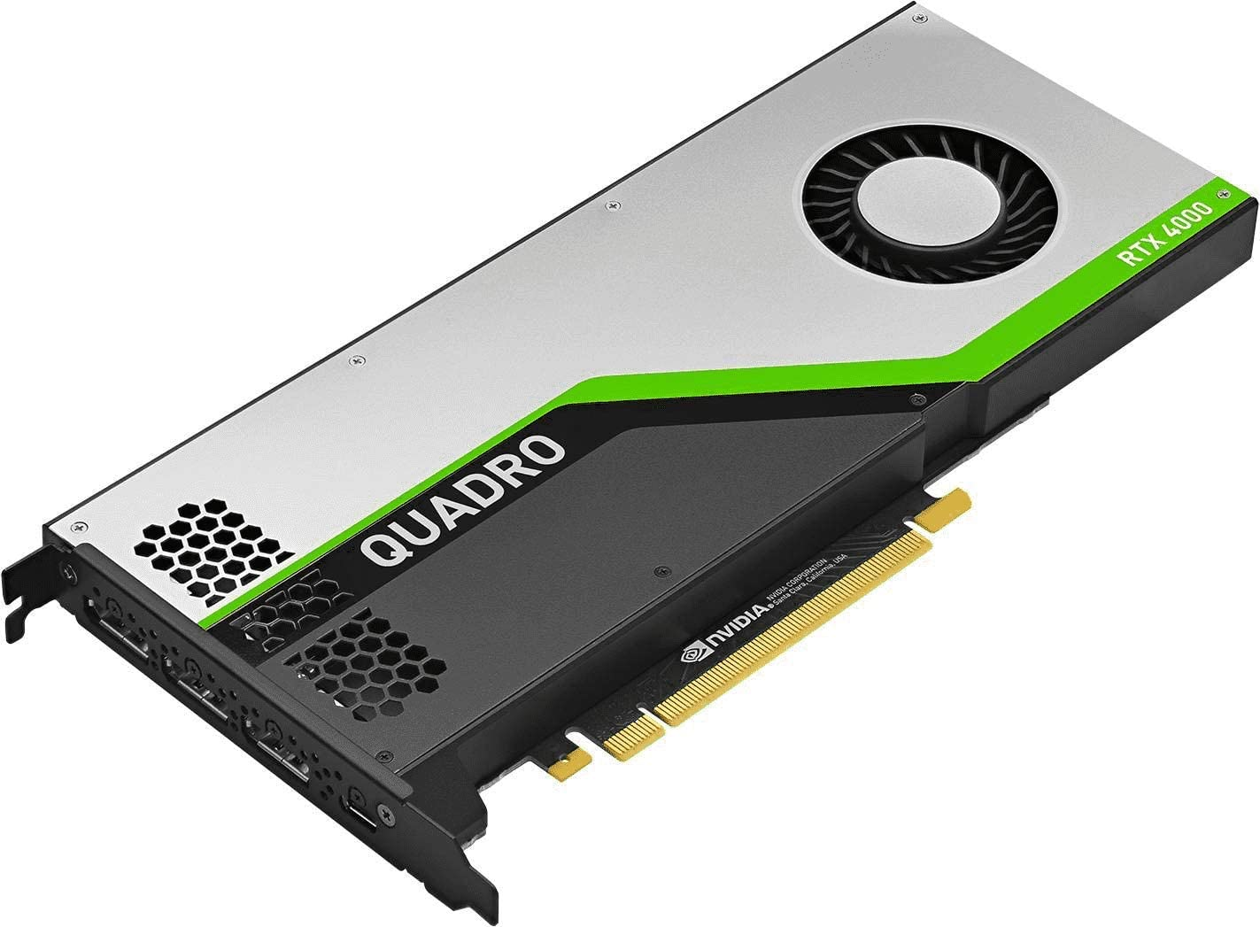 PNY Quadro RTX 4000 Graphic Card - 8 GB GDDR6 - PC-B07P8F3K79, one color / one size
