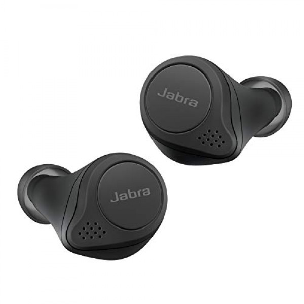 【Amazon.co.jp 한정】 Jabra 전체 무선 이어폰 Elite 75t 블랙 bluetooth 5.0 노이즈 캔슬링 마이크 방진 방적 I
