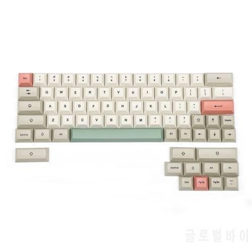 YMDK DSA 프로파일 9009 염료 서브 61 64 68 ANSI 키셋 두꺼운 PBT 키캡 세, 상세내용참조, 상세내용참조
