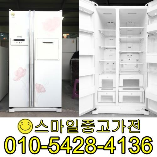 삼성지펠 양문형냉장고 2도어 중고양문형냉장고 이사 공장입주 신혼가전 가성비 최고제품 보유 특가세일중 682리터, 중고업소용냉장고