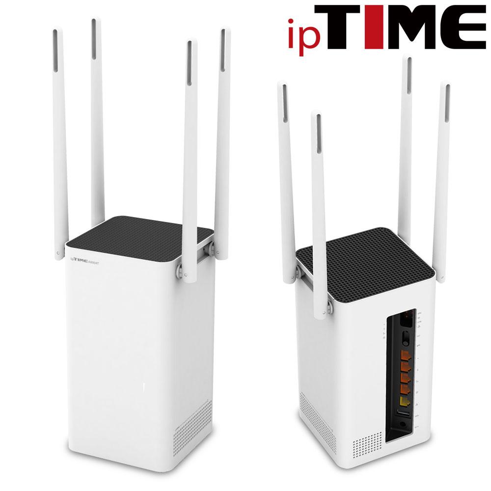 IPTIME A8004ITL 와이파이 유무선 공유기, A8004ITL (기본구성)