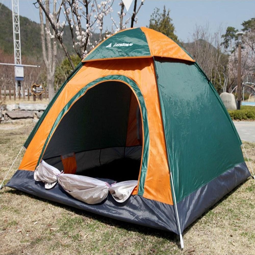 욜로온 런웨이브 원터치텐트 9인용 10인용 낚시 캠핑 텐트 특대형 2초만에설치, 10