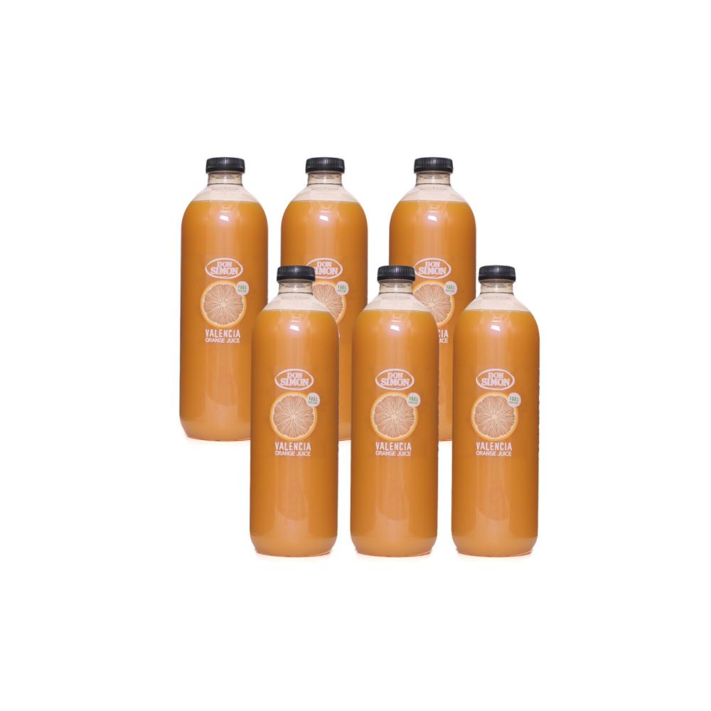 돈시몬 오렌지 주스 1L x 6 x 2 / 코스트코 쥬스 임산부 발렌시아 착즙 과채 음료