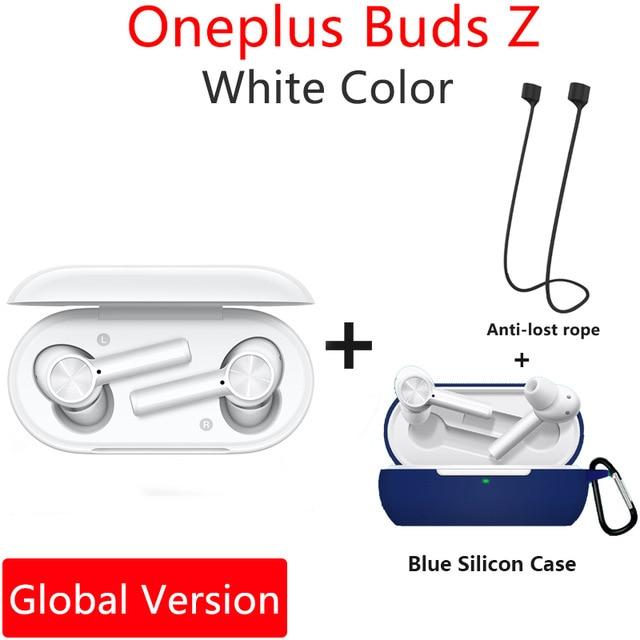Original OnePlus Buds Z 이어폰 글 머리 기호 무선 2 Bluetooth 5.0 Oneplus 8T 8 Pro 6T 헤드폰 용 자기, 18 GL Z White n Blue