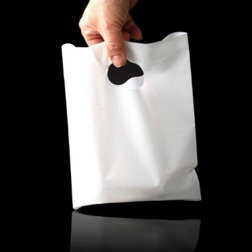 모모라 기능성 있는 질긴 4만원대 선물 팬시봉투 비닐쇼핑백 쇼핑봉투 21X30cm 300매 E-1154263, 화이트