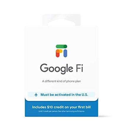 Google Fi SIM Card Kit PROD1130003985, One Color_One Size, 상세 설명 참조0, 상세 설명 참조0