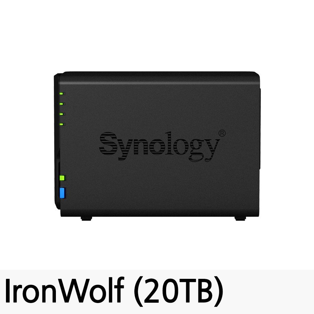 시놀로지 DiskStation NAS DS218, DS218 (20TB)