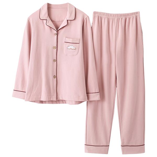 이케아 워너비에스 투피스 면잠옷 구름 핑크