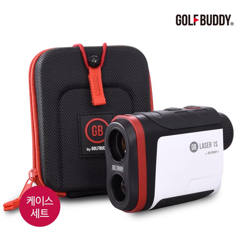 골프버디 사은품증정 레이저 골프거리측정기 GB LASER1S 케이스세트, GB LASER1S+케이스/레드