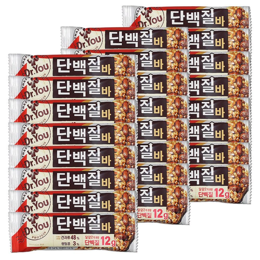 오리온 닥터유 단백질바(50g) 1p x 24개, 단품