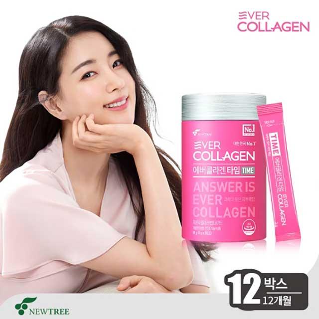 에버콜라겐 김사랑 콜라겐 타임 12박스(12개월), 12box, 90g
